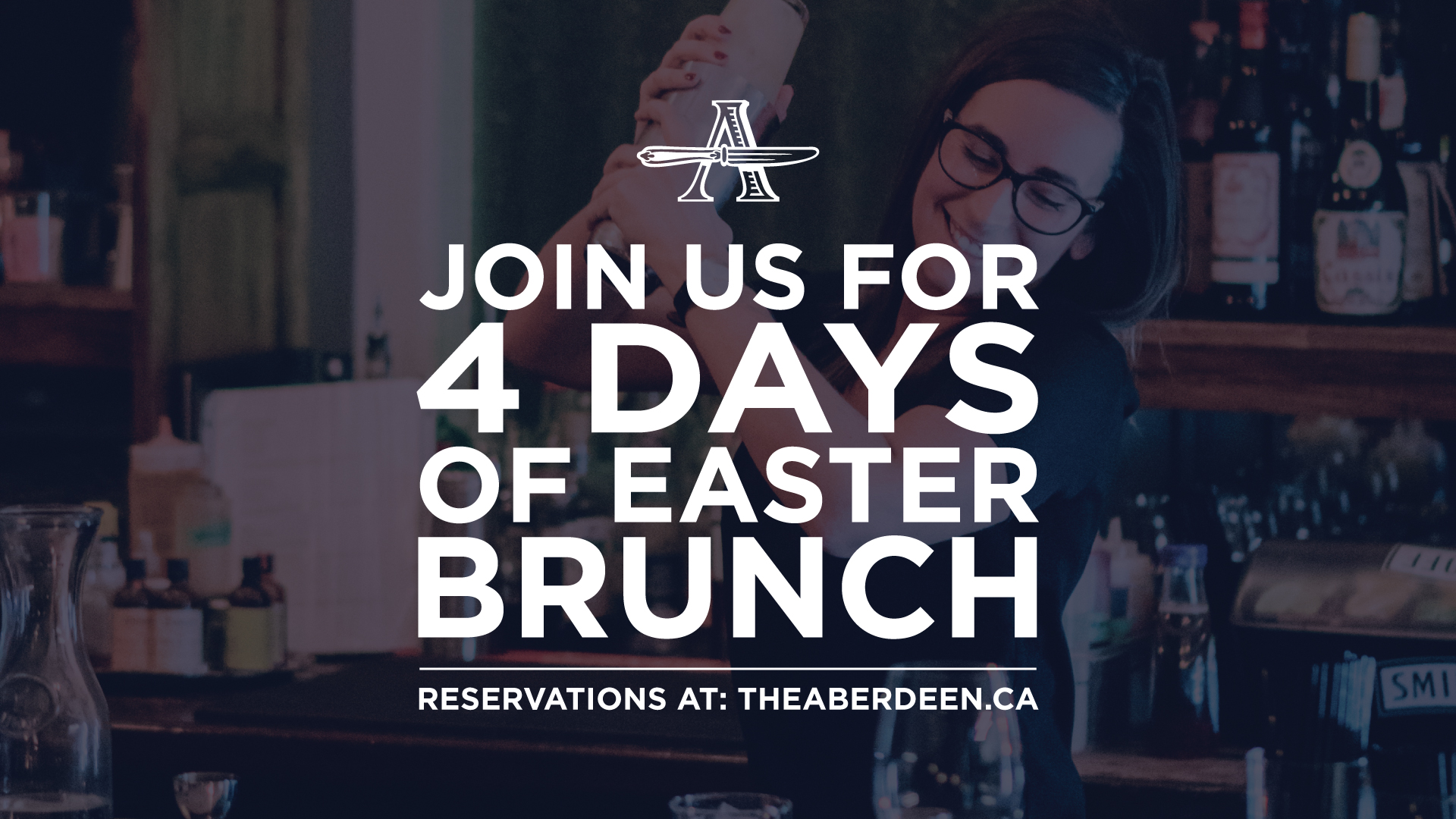Join us for four days of Easter brunch