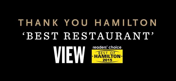 Thank You Hamilton!
